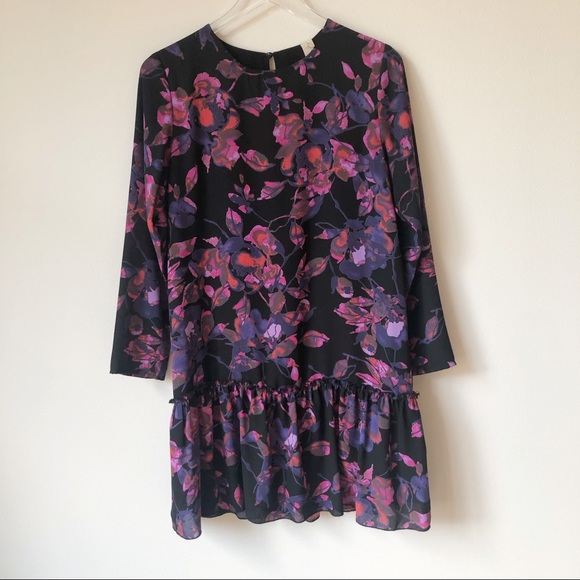 Evereve Dresses & Skirts - Evereve Allison Joy Long Sleeve Floral Dress